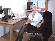 Anal Sex mit einer sexy Blondine deutsche Freundin
