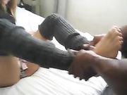 Nymphoman Freundin macht Sex mit schwarzen Freund