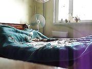 Sex mit seiner sexy Frau im Bett