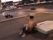 Nackt an öffentlichen Orten