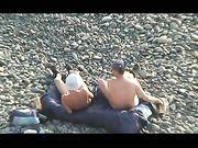 Gegenseitiger Oralsex am FKK-Strand